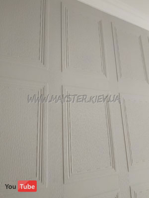 Lincrusta Georgian Panel RD 1650 в кабинете