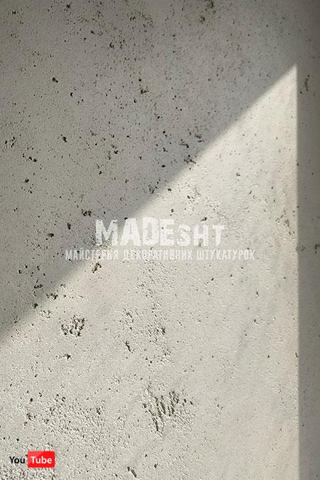 Микроцемент Senibeton Senideco на потолке